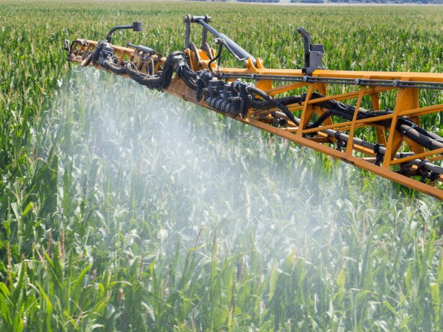 Corn Pesticide Spraying