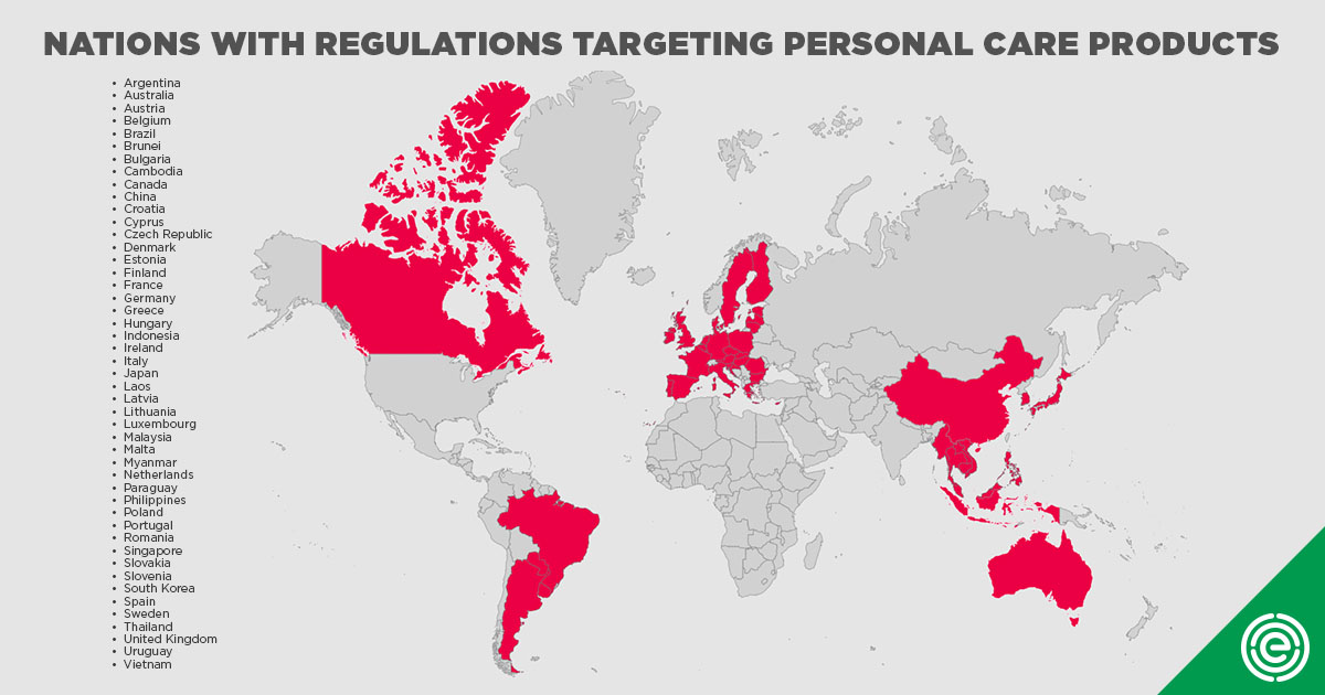 On Cosmetics Safety, U S  Trails More Than 40 Nations | EWG